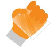 Перчатки для работы со стеклом